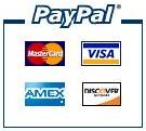 Subscriptions processed safely through PayPal, Master Card, Visa, American Express, and Discover.